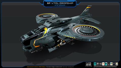 SF - VTOL Dropship