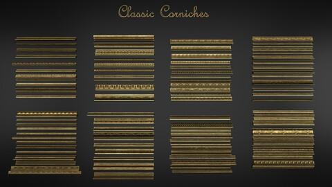Mote than +100 classic corniches