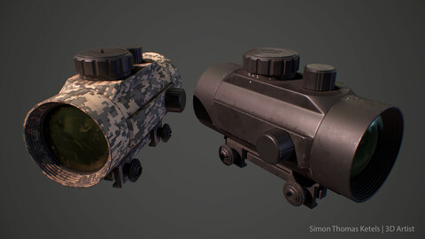 Red Dot Sight 1x45 (Game Ready)