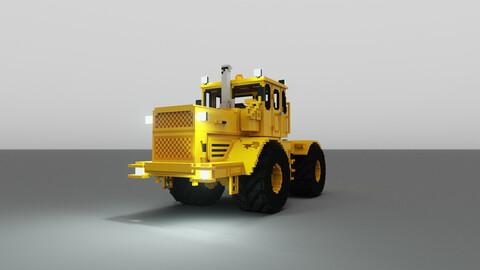 Voxel Traktor K-700 3D model