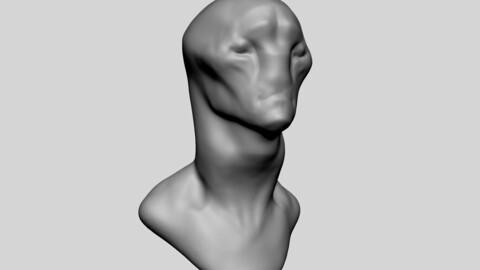 Creature Head Base