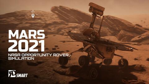 NASA Opportunity Rover (UE4)