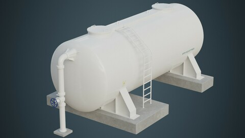 Industrial Gas Tank 5A