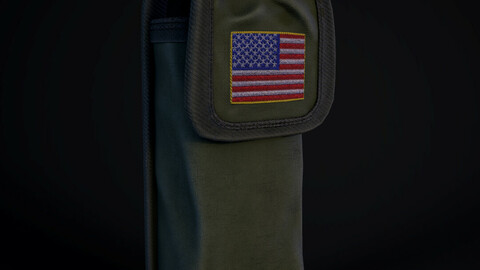 Military pouch USA Army
