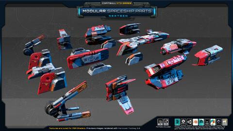NextGEN - Modular Spaceship Parts