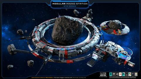 SF - Space MODULAR - Mining Station