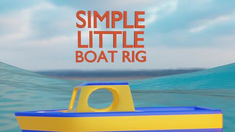 Simple Little Boat Rig for Blender