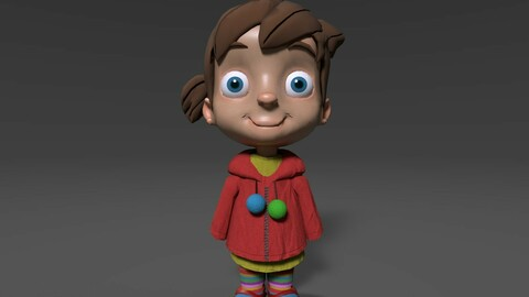 Little Girl (Game Ready Character)