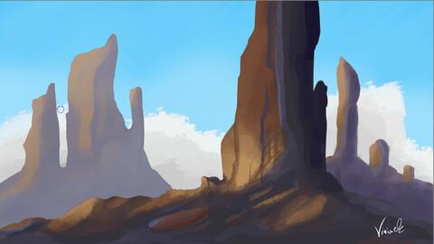 SpeedArt paint - landscape
