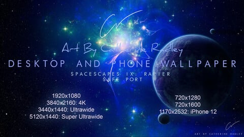 IX-Rapier: Safe Port Wallpaper