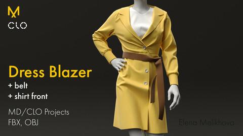 Dress Blazer (Marvelous Designer)