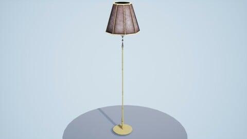 Vintage Lamp 3D Asset