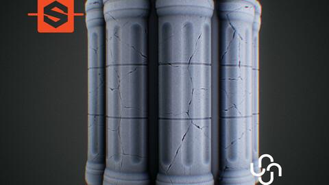 Substance Designer Tutorial   Stylized Pillar