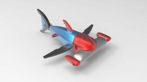 Robotic Spacecraft model