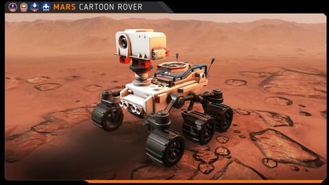 Cartoon - Mars Rover