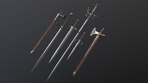 Weapon Set 1: KNIGHTS