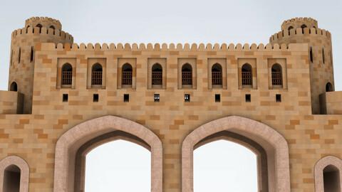 Mascut Gate fortress