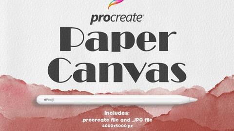 Procreate Paper Canvas 3
