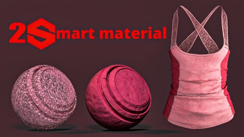 2 fabric smart material