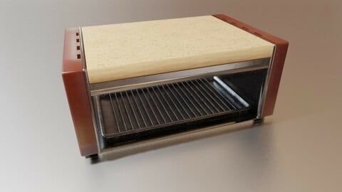Retro Flatbed Toaster