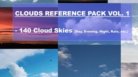 Clouds Refernce Pack Vol. 1