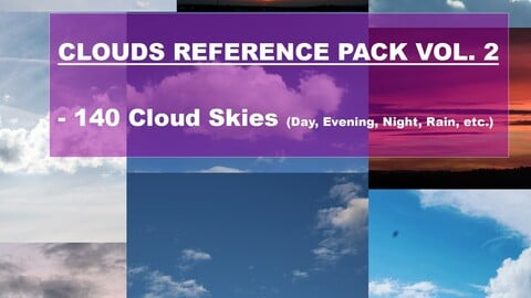 Clouds Reference Pack Vol. 2
