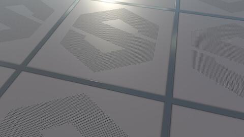 Suspended_ceiling Material %100 Substance Designer