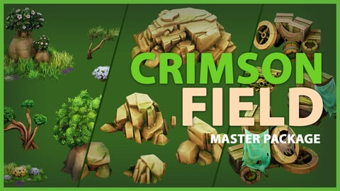 Crimson Field Full Asset Package - UE4 & Unity