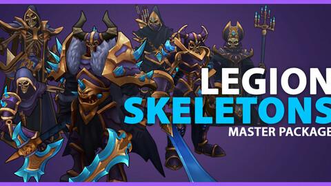 Legion Skeleton Full Asset Package - Unity & UE4