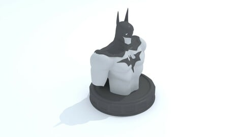 Batman Bust Model