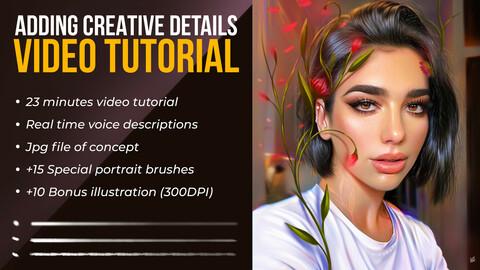 Adding Creative Details Photoshop Video Tutorial