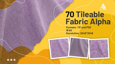70 Tileable Fabric Alpha