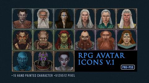 RPG AVATAR ICON SET V.1