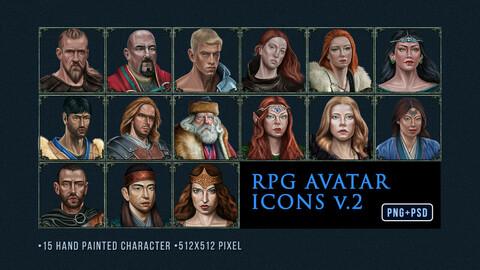 RPG AVATAR ICON SET V.2