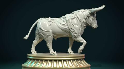 Ornate Bull