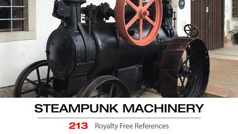 STEAMPUNK MACHINERY