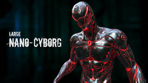 Large Nano-Cyborg