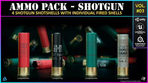 Ammo Pack 03 - Shotgun