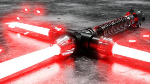 Kylo Ren's Lightsaber 3D model