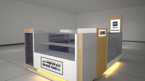 Kiosks 3D Model
