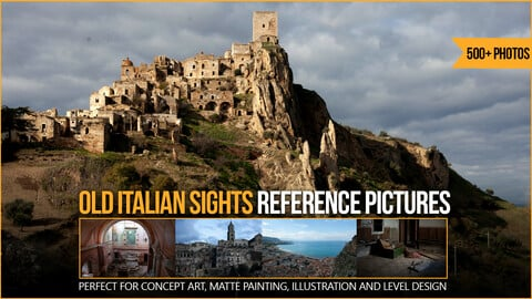 500+ Old Italian Sights Reference Pictures