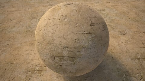 Plaster Wall (262) - Photogrammetry based Environment Texture
