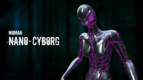 Woman Nano-Cyborg
