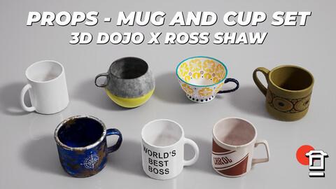 Interior Props - Mug and Cup Set