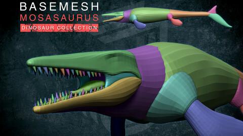Basemesh Mosasaurus