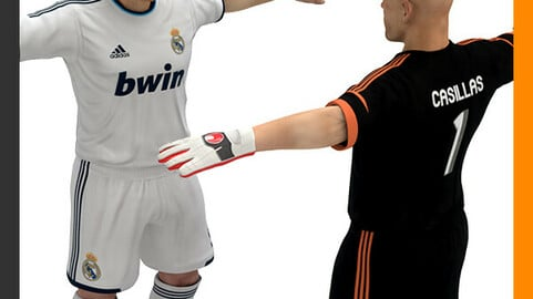 Football Player and Goalkeeper - Real Madrid CF