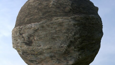 Stone Wall 4 PBR Material
