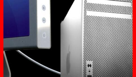 Apple Mac Pro and Cinema Display