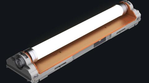 Sci-fi Fluorescent Lamp