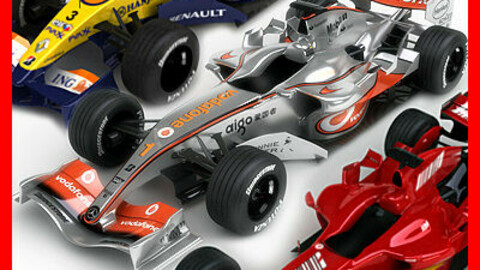 F1 2007 McLaren MP4-22 Ferrari F2007 ING Renault R27